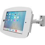 "iPad Pro (12.9"") Secure Space Enclosure with Swing Arm Kiosk White"