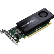 HP Quadro K1200 Graphic Card, 4 GB GDDR5, PCI Express 2.0 x16, Low-profile, Single Slot Space Required (T7T59AA)
