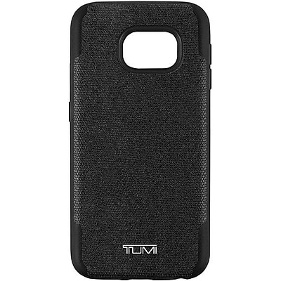 Samsung Tumi Coated Canvas Co-Mold Case for Samsung Galaxy S7, Coated Canvas Black (EF-CG930PTEPIO)
