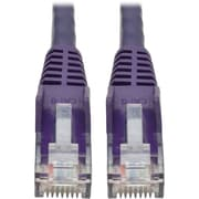Tripp Lite 6ft Cat6 Snagless Molded Patch Cable UTP Purple RJ45 M/M 6' (N201-006-PU)
