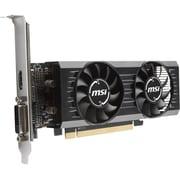 MSI RX 550 2GT LP OC Radeon RX 550 Graphic Card, 1.20 GHz Boost Clock, 2 GB GDDR5, Low-profile (RX 550 2GT LP OC)