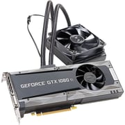 EVGA GeForce GTX 1080 Ti Graphic Card, 1.56 GHz Core, 1.67 GHz Boost Clock, 11 GB GDDR5X, Dual Slot Space Required