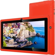 "Zeepad 7DRK-Q Tablet, 7"", 512 MB DDR3 SDRAM, Allwinner Cortex A7 A33 Quad-core, 4 GB, Android 4.4.2 KitKat (7DRK-IP-RED)"
