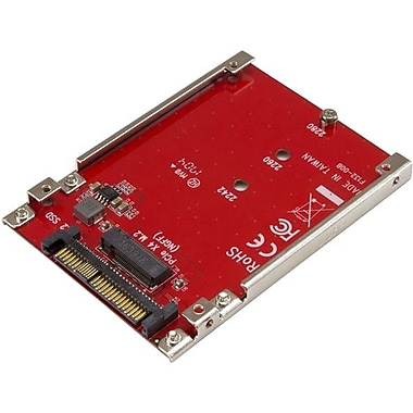 M.2 to U.2 Adapter, M.2 Drive to U.2 (SFF-8639) Host Adapter for M.2 PCIe NVMe SSDs, M.2 Drive Adapter, M.2 PCIe SSD Adapter