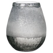 Varick Gallery Parkin Frosted Table Vase