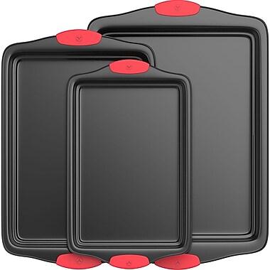 Vremi 3 Piece Non-Stick Baking Sheet Set