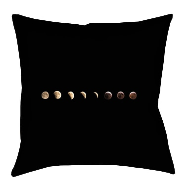 Brayden Studio Shepparton Moon Phases Square Pillow Cover; 14'' x 14''