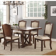 Canora Grey Chevaliers Upholstered Dining Chair (Set of 2)