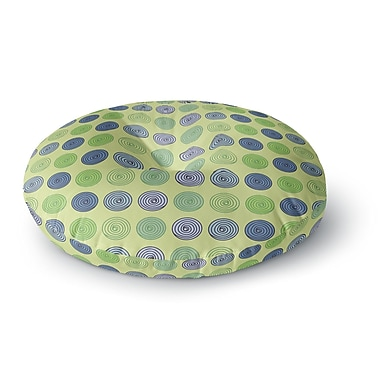 East Urban Home Afe Images Spheres Round Floor Pillow; 23'' x 23''