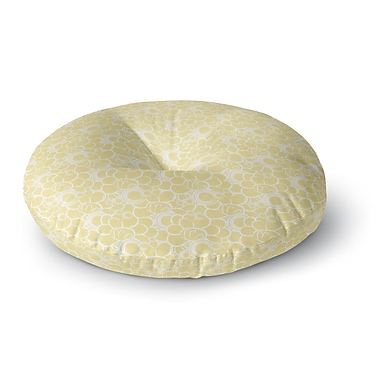 East Urban Home Mydeas Sunny Spots Pattern Vector Round Floor Pillow; 26'' x 26''