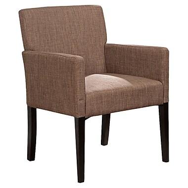 Ebern Designs Bea Armchair; Brown