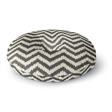 East Urban Home Amanda Lane Moonrise Diaikat Round Floor Pillow; 26'' x 26''