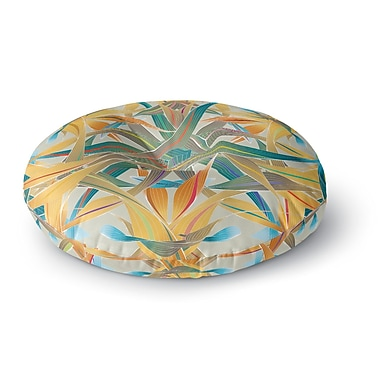 East Urban Home Angelo Cerantola Supreme Round Floor Pillow; 23'' x 23''