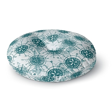 East Urban Home Anchobee Satellite Round Floor Pillow; 26'' x 26''