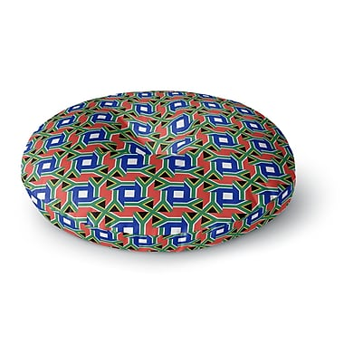 East Urban Home Bruce Stanfield South Africa Round Floor Pillow; 23'' x 23''