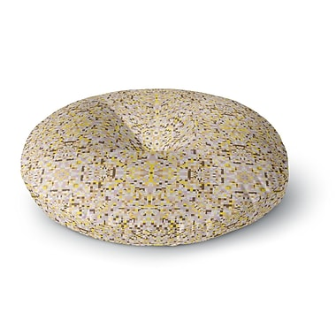 East Urban Home Allison Soupcoff Hint Round Floor Pillow; 26'' x 26''