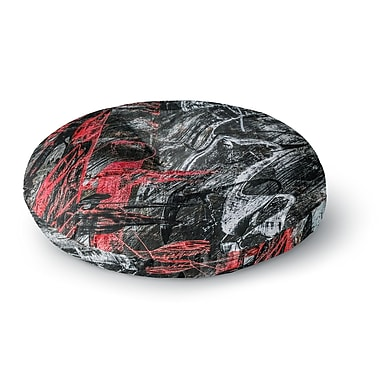 East Urban Home Bruce Stanfield Areus Abstract Round Floor Pillow; 26'' x 26''