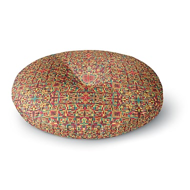 East Urban Home Allison Soupcoff Circus Round Floor Pillow; 23'' x 23''