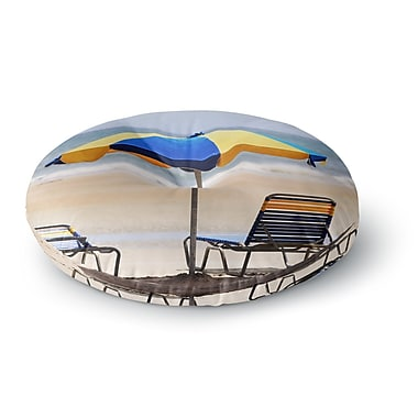 East Urban Home Angie Turner Umbrella Photography Round Floor Pillow; 23'' x 23''