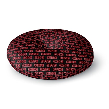 East Urban Home Bruce Stanfield OMG Round Floor Pillow; 23'' x 23''