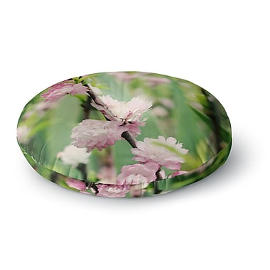 East Urban Home Beth Engel The Best Things in Life are Round Floor Pillow; 23'' x 23''