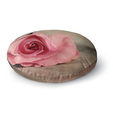 East Urban Home Angie Turner A Touch of Romance Round Floor Pillow; 23'' x 23''