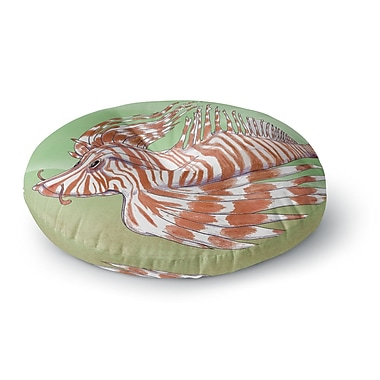 East Urban Home Catherine Holcombe Fish Manchu Round Floor Pillow; 23'' x 23''