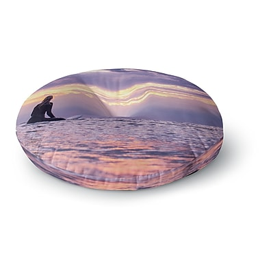 East Urban Home Colin Pierce Soul Search Photography Round Floor Pillow; 23'' x 23''