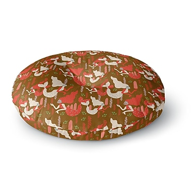 East Urban Home Akwaflorell Mermaids Round Floor Pillow; 26'' x 26''