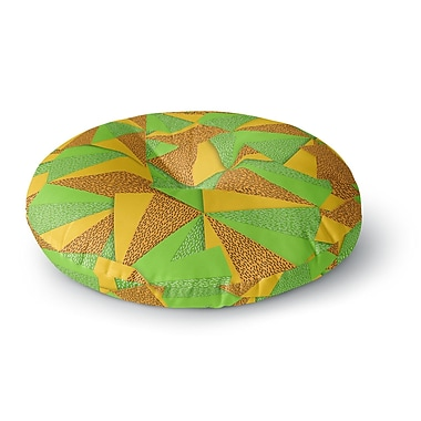 East Urban Home Danny Ivan This Side Round Floor Pillow; 23'' x 23''