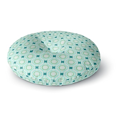 East Urban Home Catherine McDonald Tossing Pennies I Round Floor Pillow; 23'' x 23''