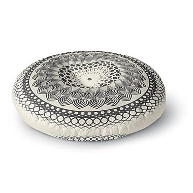 East Urban Home Famenxt Boho Mandala Geometric Round Floor Pillow; 26'' x 26''