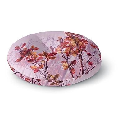 East Urban Home Iris Lehnhardt Autumn Symphony Round Floor Pillow; 26'' x 26''