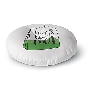 East Urban Home Jackie Rose Drop It Round Floor Pillow; 23'' x 23''