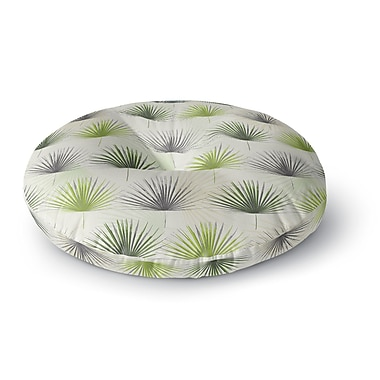 East Urban Home Julia Grifol My Holidays Time Round Floor Pillow; 26'' x 26''