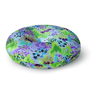 East Urban Home Ebi Emporium Lagoon Love Round Floor Pillow; 23'' x 23''