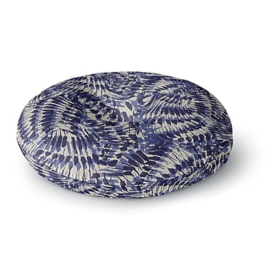 East Urban Home Gukuuki Iggy Palms Round Floor Pillow; 23'' x 23''