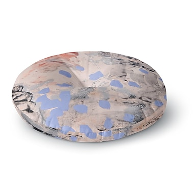 East Urban Home Iris Lehnhardt Mix Painting Round Floor Pillow; 26'' x 26''