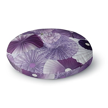 East Urban Home Heidi Jennings Wishes Round Floor Pillow; 26'' x 26''