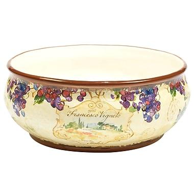 Fleur De Lis Living Carmel Deep Serving Bowl