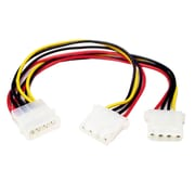 "StarTech Power Y Splitter Cable, 9.1""(L) (PYO2L)"