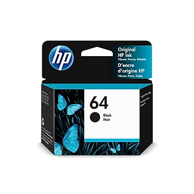 HP 64 Black Original Ink Cartridge (N9J90AN#140)