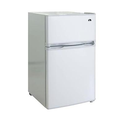 IGLOO FR832-White 3.2 CU FT 2 Door Fridge/Freezer
