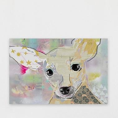 Latitude Run 'M rame' Graphic Art Print on Wrapped Canvas; 20'' H x 30'' W