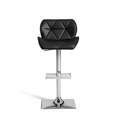 Orren Ellis Clower Adjustable Seat Height Swivel Bar Stool