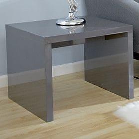 Orren Ellis Bensenville Contemporary End Table; Gray