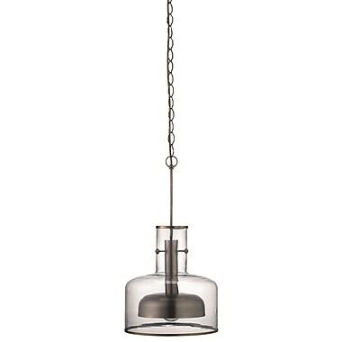 Orren Ellis Behnke 1-Light Mini Pendant; Nickel