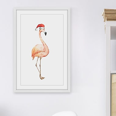 The Holiday Aisle 'Le Beau Flammand' Framed Watercolor Painting Print; 45'' H x 30'' W