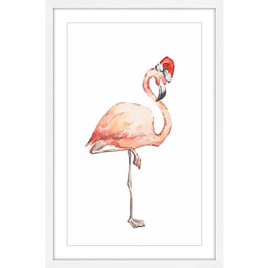 The Holiday Aisle 'Bonne Nuit Flammand' Framed Watercolor Painting Print; 36'' H x 24'' W