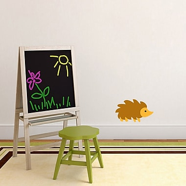 SweetumsWallDecals Woodland Forest Hedgehog Wall Decal; 6'' H x 10'' W